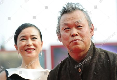 Director Kim Ki-duk (r) and Actress Cho Min-soo Arrive For the Premiere of Their Movie 'Pieta' During the 69th Venice International Film Festival in Venice Italy 04 September 2012 the Movie is Presented in the Official Competition of the Festival Which Runs From 29 August to 08 September Italy Venice