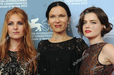 Editorial picture of Italy Venice Film Festival 2012 - Sep 2012