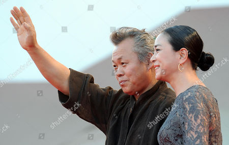 South Korean Director Kim Ki-duk (l) and Actress Cho Min-soo Arrive For the Closing Award Ceremony of the 69th Venice International Film Festival in Venice Italy 08 September 2012 the Festival Takes Place From 29 August to 08 September Italy Venice