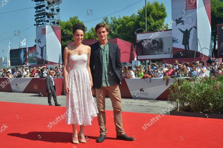 Italian Actress Margherita Laterza (l) and Italian Actor Lorenzo Richelmy (r) Arrive For the Screening of 'Il Terzo Tempo' During the 70th Annual Venice International Film Festival in Venice Italy 31 August 2013 the Movie is Presented in the Orizzonti Section of the Festival That Runs From 28 August to 07 September Italy Venice