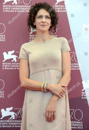 Member of the Orizzonti Jury Russian Actress Kseniya Rappoport Poses During a Photocall at the Annual 70th Venice Film Festival in Venice Italy 28 August 2013 the Orizzonti Section is an International Competition of Films As Part of the Official Selection the Festival Runs From 28 August to 07 September Italy Venice
