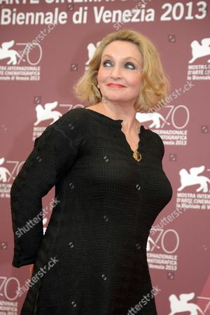 Australian Writer Robyn Davidson Poses During a Photocall For 'Tracks' at the 70th Annual Venice International Film Festival in Venice Italy 29 August 2013 the Movie is Presented in the Official Competition of the Festival That Runs From 28 August to 07 September Italy Venice