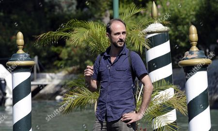 Italian Director Alessandro Rak Arrives at the Lido to Attend the 70th Annual Venice International Film Festival in Venice Italy 28 August 2013 Rak Will Promote His Movie 'L'arte Della Felicita (the Art of Happiness)' Presented out of Competition at the Festival That Runs From 28 August to 07 September Italy Venice