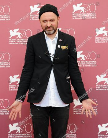 Sweden Director Lukas Moodysson Poses at a Photocall For 'Vi Ar Bast!' (we Are the Best!) During the 70th Annual Venice International Film Festival in Venice Italy 31 August 2013 the Movie is Presented in the Orizzonti Section of the Festival That Runs From 28 August to 07 September Italy Venice
