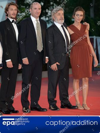 Adds Date Epa03850974-7 (l-r) Italian Actors/cast Members Gabriele Rendina Antonio Albanese Director Gianni Amelio and Actress Livia Rossi Arrive For the Premiere of 'L'inteprido' at the 70th Annual Venice International Film Festival in Venice Italy 04 September 2013 the Movie is Presented in the Official Competition Venezia 70 the Festival Runs From 28 August to 07 September Italy Venice