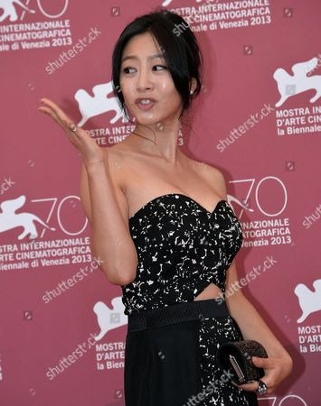 South Korean Actress Lee Eun-woo Poses at a Photocall For 'Moebius' During the 70th Annual Venice International Film Festival in Venice Italy 03 September 2013 the Movie is Presented out of Competition at the Festival That Runs From 28 August to 07 September Italy Venice