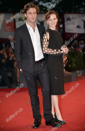Stock Picture of Italian Actors Lorenzo Richelmy and Margherita Laterza Attend Premio Kineo Red Carpet During the 70th Annual Venice International Film Festival in Venice Italy 01 September 2013 the Festival Running From 28 August to 07 September Italy Venice