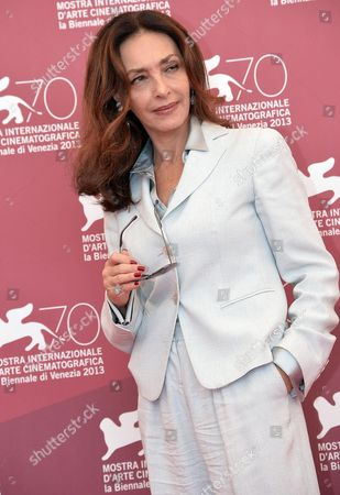 Italian Actress Maria Rosaria Omaggio Poses at a Photocall For 'Walesa Czlowiek Z Nadziei' (walesa Man of Hope) During the 70th Annual Venice International Film Festival in Venice Italy 05 September 2013 the Movie is Presented out of Competition at the Festival Running From 28 August to 07 September Italy Venice
