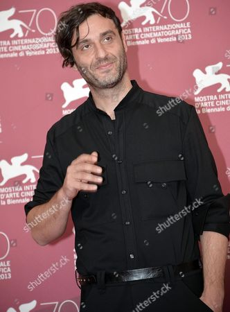 Greek Director Alexandros Avranas Poses at a Photocall For 'Miss Violence' During the 70th Annual Venice International Film Festival in Venice Italy 01 September 2013 the Movie is Presented in the Official Competition Venezia 70 of the Festival Running From 28 August to 07 September Italy Venice