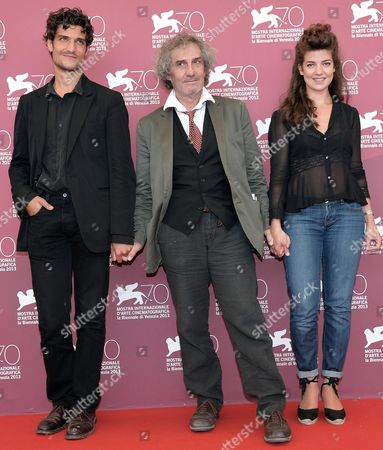 French Actor Louis Garrel (l) French Director Philippe Garrel (c) and French Actress Esther Garrel (r) Pose During a Photocall For 'La Jalousie' at the 70th Annual Venice International Film Festival in Venice Italy 05 September 2013 the Movie is Presented in the Official Competition Venezia 70 the Festival Runs From 28 August to 07 September Italy Venice