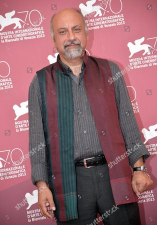 Iranian Actor Babak Karimi Poses at a Photocall For 'Mahi Va Gorbeh' (fish & Cat) During the 70th Annual Venice International Film Festival in Venice Italy 06 September 2013 the Movie is Presented in the Orizzonti Section at the Festival That Runs From 28 August to 07 September Italy Venice