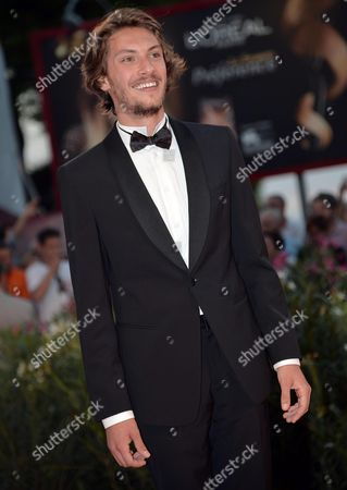 Stock Photo of Italian Actor/cast Member Gabriele Rendina Arrives For the Premiere of 'L'inteprido' at the 70th Annual Venice International Film Festival in Venice Italy 04 September 2013 the Movie is Presented in the Official Competition Venezia 70 the Festival Runs From 28 August to 07 September Italy Venice