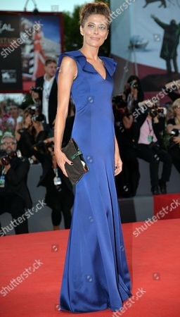 Stock Picture of Italian Actress/cast Member Sandra Ceccarelli Arrives For the Premiere of 'L'inteprido' at the 70th Annual Venice International Film Festival in Venice Italy 04 September 2013 the Movie is Presented in the Official Competition Venezia 70 the Festival Runs From 28 August to 07 September Italy Venice