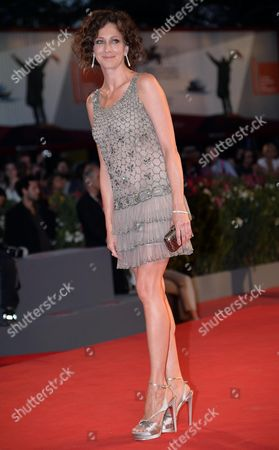 Stock Image of Member of the Orizzonti Jury Russian Actress Kseniya Rappoport Attends Premio Kineo Red Carpet During the 70th Annual Venice International Film Festival in Venice Italy 01 September 2013 the Festival Running From 28 August to 07 September Italy Venice