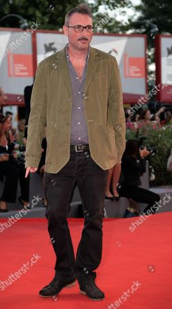 Italian Director Antonio Piazza Arrives As Guest For the Premiere of 'Under the Skin' at the 70th Annual Venice International Film Festival in Venice Italy 03 September 2013 the Movie is Presented in the Official Competition Venezia 70 the Festival Runs From 28 August to 07 September Italy Venice