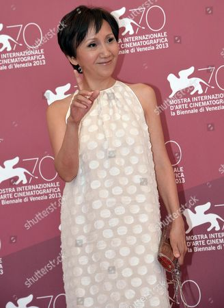 Taiwanese Actress/cast Member Lu Yi-ching Poses During a Photocall For 'Jiaoyou' (stray Dogs) at the 70th Annual Venice International Film Festival in Venice Italy 05 September 2013 the Movie is Presented in the Official Competition Venezia 70 the Festival Runs From 28 August to 07 September Italy Venice