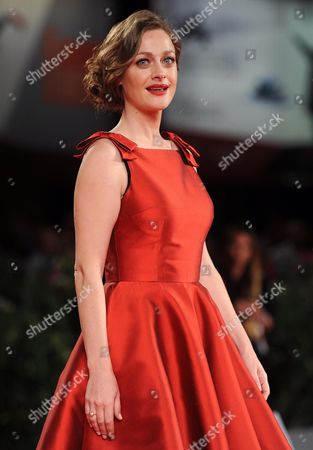 Greek Actress Eleni Roussinou Arrives For the Screening of 'Miss Violence' at the 70th Annual Venice International Film Festival in Venice Italy 01 September 2013 the Movie is Presented in the Official Competition Venezia 70 of the Festival Running From 28 August to 07 September Italy Venice
