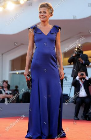 Italian Actress/cast Member Sandra Ceccarelli Arrives For the Premiere of 'L'inteprido' at the 70th Annual Venice International Film Festival in Venice Italy 04 September 2013 the Movie is Presented in the Official Competition Venezia 70 the Festival Runs From 28 August to 07 September Italy Venice