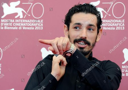 Actor Nadjib Oulebsir Poses at a Photocall For 'Es-stouh' (the Rooftops) During the 70th Annual Venice International Film Festival in Venice Italy 06 September 2013 the Movie is Presented in the Official Competition Venezia 70 of the Festival Running From 28 August to 07 September Italy Venice