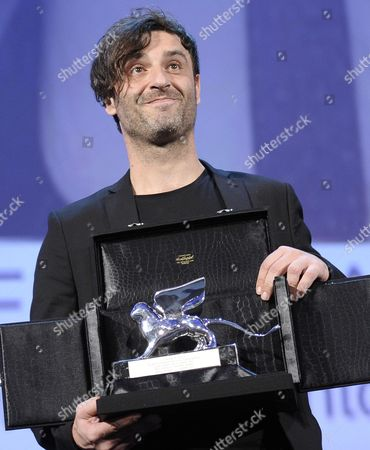 Epa03856624 Greek Director Alexandros Avranas Holds the Silver Lion For Best Director For the Movie 'Miss Violence' During the Closing Award Ceremony of the 70th Venice International Film Festival in Venice Italy 07 September 2013 Italy Venice
