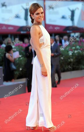 Stock Picture of Italian Actress Eugenia Costantini Arrives As Guest For the Screening of 'Es-stouh' (les Terrasses / the Rooftops) at the 70th Annual Venice International Film Festival in Venice Italy 06 September 2013 the Movie is Presented in the Official Competition Venezia 70 the Festival Runs From 28 August to 07 September Italy Venice