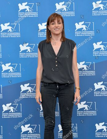Us Director Ami Canaan Mann Poses at a Photocall For 'Jackie and Ryan' During the 71st Annual Venice International Film Festival in Venice Italy 31 August 2014 the Movie is Presented in the Orizzonti Section of the Festival Running From 27 August to 06 September Italy Venice