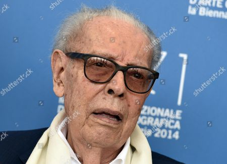 Stock Picture of Italian Cinema Critic Gianluigi Rondi Poses During a Photocall For the Documental 'Gianluigi Rondi: Vita Cinema Passione' During the 71st Annual Venice International Film Festival in Venice Italy 31 August 2014 the Movie is Presented in the Venice Classic Section at the Festival Running From 27 August to 06 September Italy Venice