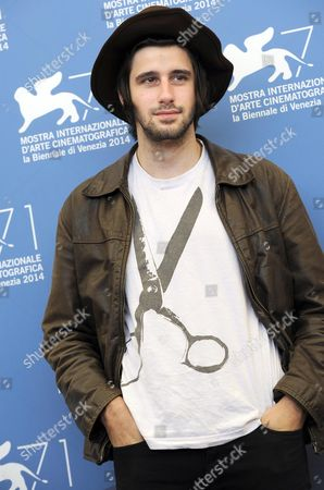 French Actor Clement Metayer Poses at a Photocall For the Movie 'La Vita Oscena' During the 71st Annual Venice Film Festival at the Lido in Venice Italy 28 August 2014 the Movie is Presented in the Orizzonti Selection at the Festival Running From 27 August to 06 September Italy Venice