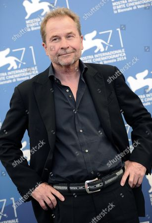 Austrian Director Ulrich Seidl Poses at a Photocall For 'Im Keller (in the Basement))' During the 71st Annual Venice International Film Festival in Venice Italy 29 August 2014 the Movie is Presented out of Competition at the Festival Running From 27 August to 06 September Italy Venice