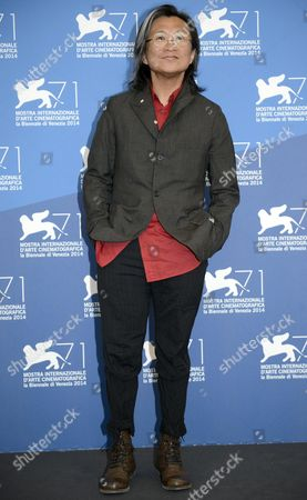 Chinese Director Peter Ho-sun Chan Poses During a Photocall For the Movie 'Dearest' (qin'ai De) During the 71st Annual Venice Film Festival at the Lido in Venice Italy 28 August 2014 the Movie is Presented in the out of Competition Selection at the Festival Running From 27 August to 06 September Italy Venice