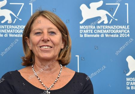 Giulio Andreotti's Daughter Seren Poses at a Photocall For 'Giulio Andreotti - Il Cinema Visto Da Vicino' During the 71st Annual Venice International Film Festival in Venice Italy 29 August 2014 the Movie is Presented in the Venice Classics Section at the Festival That Runs From 27 August to 06 September Italy Venice