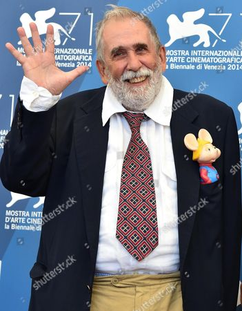 Italian Director Tatti Sanguineti Poses at a Photocall For 'Giulio Andreotti - Il Cinema Visto Da Vicino' During the 71st Annual Venice International Film Festival in Venice Italy 29 August 2014 the Movie is Presented in the Venice Classics Section at the Festival That Runs From 27 August to 06 September Italy Venice
