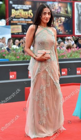 Actress Hindi Zahra Arrives For the Premiere of 'The Cut' During the 71st Annual Venice International Film Festival in Venice Italy 31 August 2014 the Movie is Presented in the Official Competition Venezia 71 at the Festival That Runs From 27 August to 06 September Italy Venice
