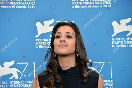 Italian Actress Simona Tabasco Poses at a Photocall For 'Perez' During the 71st Annual Venice International Film Festival in Venice Italy 05 September 2014 the Movie is Presented out of Competition at the Festival Running From 27 August to 06 September Italy Venice