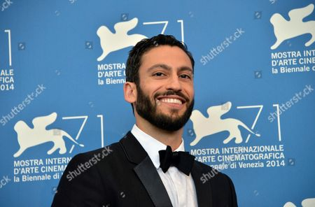 Actor Adam Tsekhman Poses During a Photocall For the Movie 'Tsili' During the 71st Annual Venice International Film Festival at the Lido in Venice Italy 01 September 2014 the Movie is Presented in the Venezia 71 Section at the Festival Running From 27 August to 06 September Italy Venice