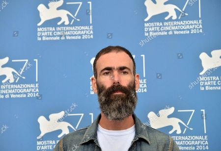 Stock Photo of British Director Duane Hopkins Poses at a Photocall For 'Bypass' During the 71st Annual Venice International Film Festival in Venice Italy 02 September 2014 the Movie is Presented in the Orizzonti Section the Event is Scheduled to Run From 27 August to 06 September Italy Venice
