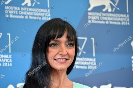 Portuguese Actress Maria De Medeiros Poses During a Photocall For the Movie 'Pasolini' During the 71st Annual Venice International Film Festival in Venice Italy 04 September 2014 the Move is Presented in the Official Competition Venezia 71 of the Festival Running From 27 August to 06 September Italy Venice