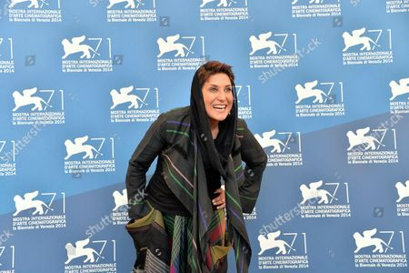 Iranian Actress Fatemeh Motamed Arya Poses During a Photocall For the Movie 'Nabat' During the 71st Annual Venice International Film Festival in Venice Italy 05 September 2014 the Movie is Presented at Orizzonti Section at the Festival That Runs From 27 August to 06 September 2014 Italy Venice