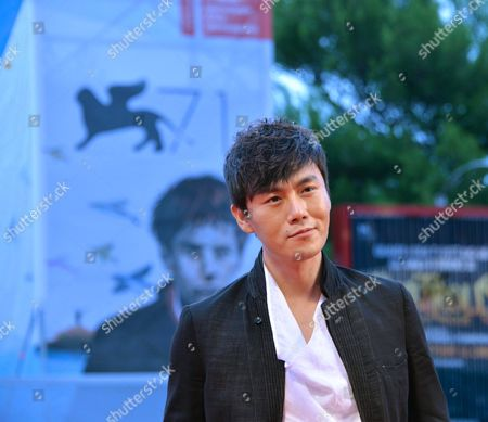 Chinese Actor Qin Hao Arrives on the Red Carpet For the Premiere of 'Chuangru Zhe' (red Amnesia) During the 71st Annual Venice International Film Festival in Venice Italy 04 September 2014 the Movie is Presented in the Venezia 71 Section at the Festival That Runs From 27 August to 06 September 2014 Italy Venice