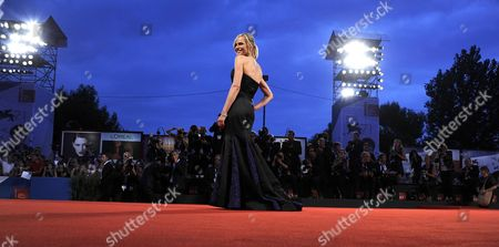 Canadian Actress Rachel Roberts Arrives For the Premiere of 'Good Kill' During the 71st Annual Venice International Film Festival in Venice Italy 05 September 2014 the Movie is Presented in the Official Competition Venezia 71 at the Festival Running From 27 August to 06 September Italy Venice