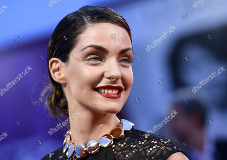 Italian Actress Valentina Corti Arrives For the Premiere of 'Good Kill' During the 71st Annual Venice International Film Festival in Venice Italy 05 September 2014 the Movie is Presented in the Official Competition Venezia 71 at the Festival Running From 27 August to 06 September Italy Venice