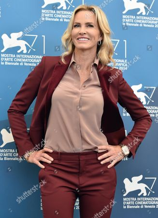 Us Actress Janet Jones Gretzky Poses During a Photocall For the Movie 'The Sound and the Fury' During the 71st Annual Venice International Film Festival in Venice Italy 05 September 2014 the Movie is Presented out of Competition at the Festival Running From 27 August to 06 September Italy Venice