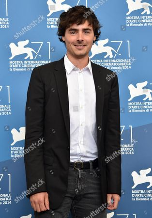 Italian Actor Edoardo Natoli Poses During a Photocall For the Movie 'Il Giovane Favoloso' During the 71th Annual Venice International Film Festival at the Lido in Venice Italy 01 September 2014 the Movie is Presented in the Venezia 71 Section at the Festival Running From 27 August to 06 September Italy Venice