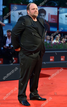 French Actor/cast Member Gregory Gadebois Arrives For the Premiere of 'Le Dernier Coup De Marteau' During the 71st Annual Venice International Film Festival in Venice Italy 03 September 2014 the Move is Presented in the Official Competition Venezia 71 of the Festival Running From 27 August to 06 September Italy Venice