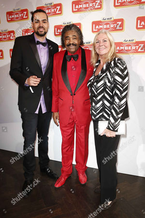 Stock Image of Shaka Mc Cray, George McCrae, wife Yvonne Bergsma