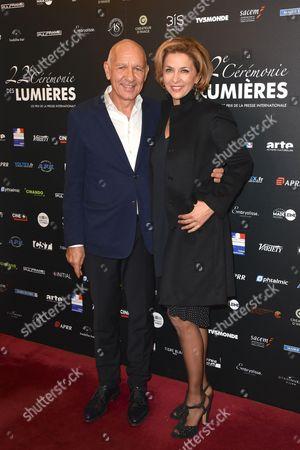 Dominique Bergin and Corinne Touzet
