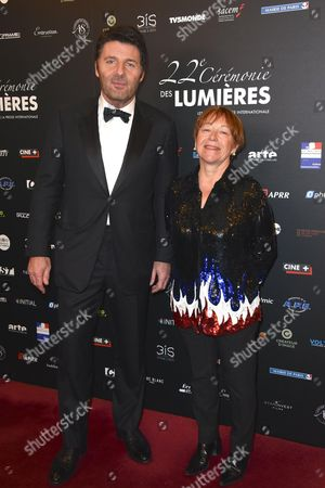 Philippe Lellouche and a guest