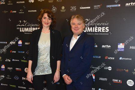 Editorial photo of Lumieres Awards, Paris, France - 30 Jan 2017