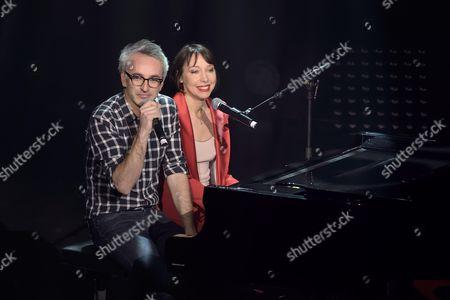 Vincent Delerm and Jeanne Cherhal