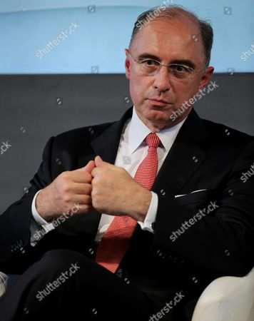 Xavier Rolet Ceo of the London Stock Exchange Group Attends the T2s (target2-securities) Launch in Milan Italy 02 July 2015 the T2s Platform of the European Central Bank (ecb) According to Media Reports is a Mechanism Designed to Settle Securities and Exchanging the Legal Ownership in a Transaction's Final Phase Italy Milan